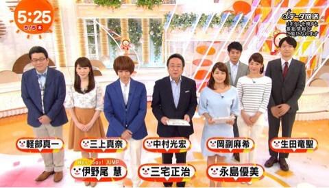 めざまし テレビ 慧 伊野尾
