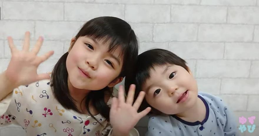 加藤ゆずなちゃんと弟