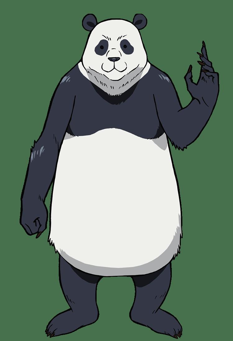 呪術廻戦パンダの全身画像